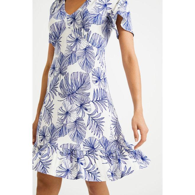 Short flowing Flower dress