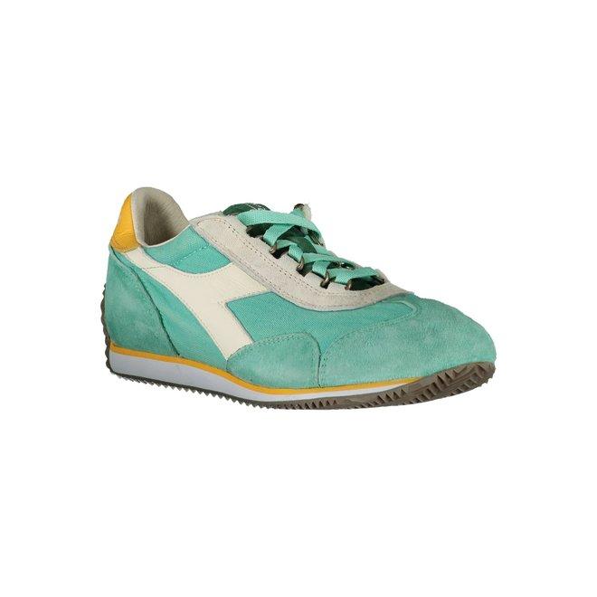 Equipe Stone Wash 12 Heritage Sneakers Women - Green/White/Yellow