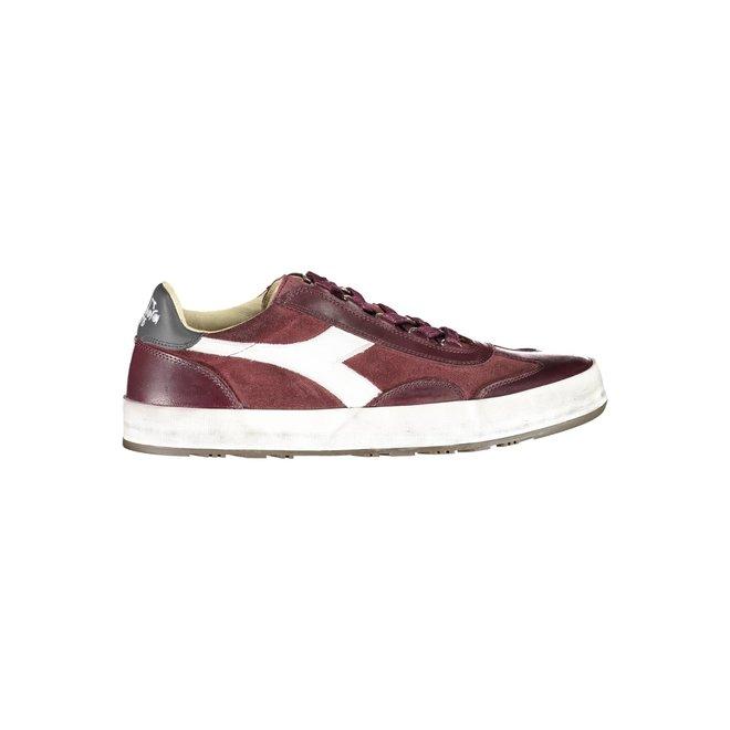 B. Original H Suede Stone Wash Heritage Sneakers Men - Red