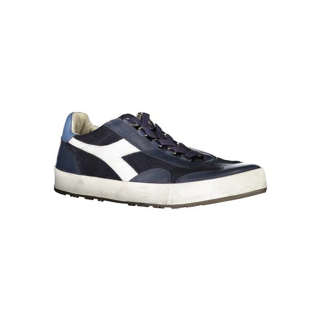 B. Original H Suede Stone Wash Heritage Sneakers Men - Blue
