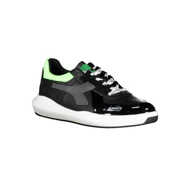 MI Basket H Low MDS Fluo Sneakers Men - Black