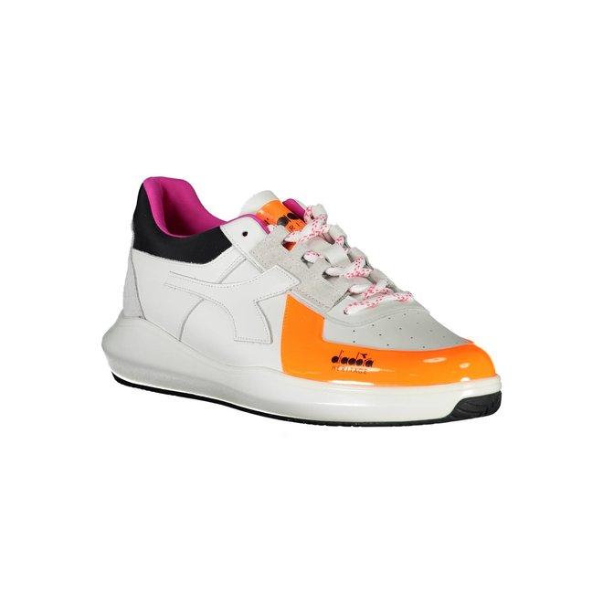 MI Basket H Low MDS Fluo Sneakers Men - White/Orange