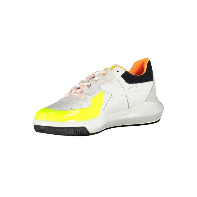 MI Basket H Low MDS Fluo Sneakers Men - White/yellow