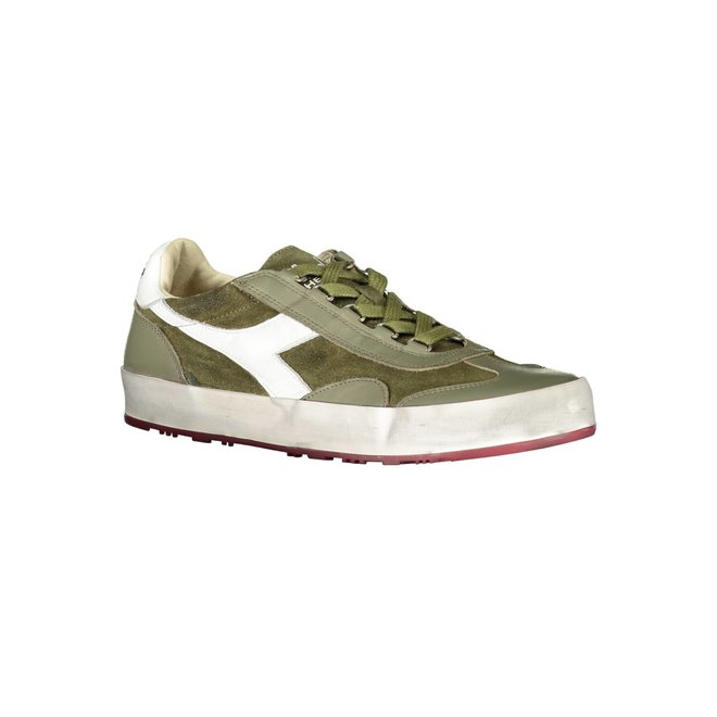 B. Original H Suede Stone Wash Heritage Sneakers Men - Green