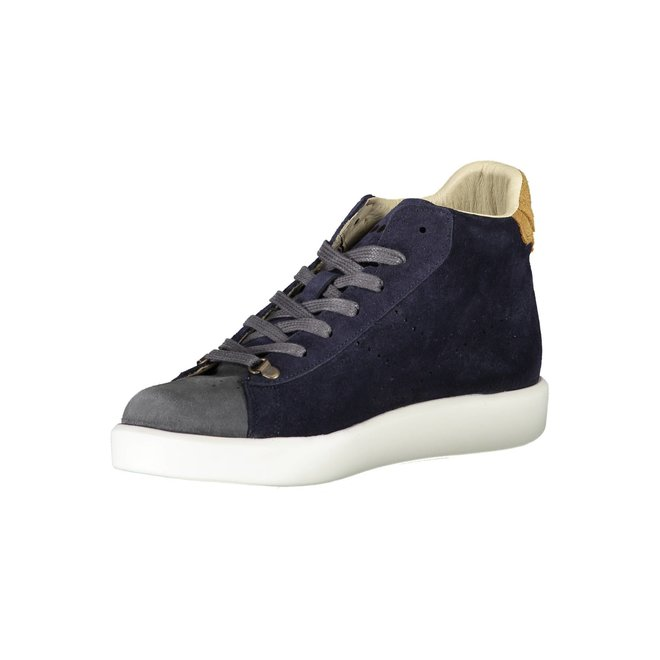Game H Midcut Kidskin Shoes Men - Blue