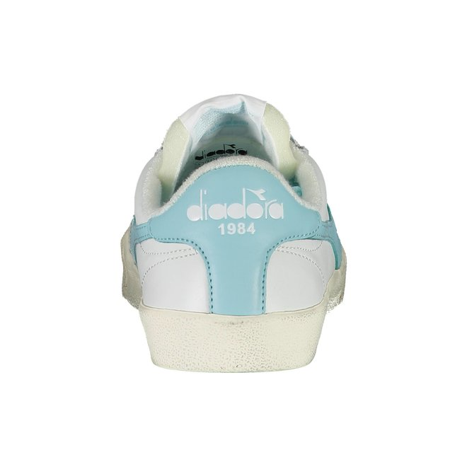 Melody Leather Sneakers Women - White/Light Blue