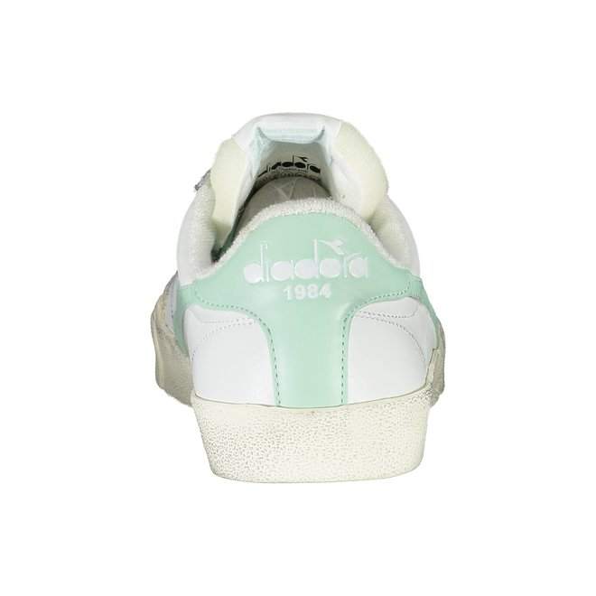 Melody Leather Sneakers Women - White/Mint Green