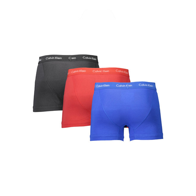 3-pack boxers - cotton stretch - Black/Blue/Red