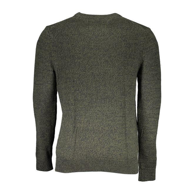 Heathered Cotton Wool Jumper Men - Deep Depths