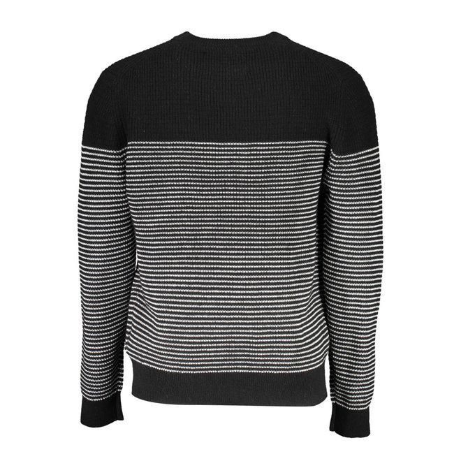 Wool Textured Stripe Jumper Men