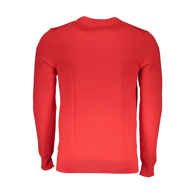 Cotton stretch jumper - Red