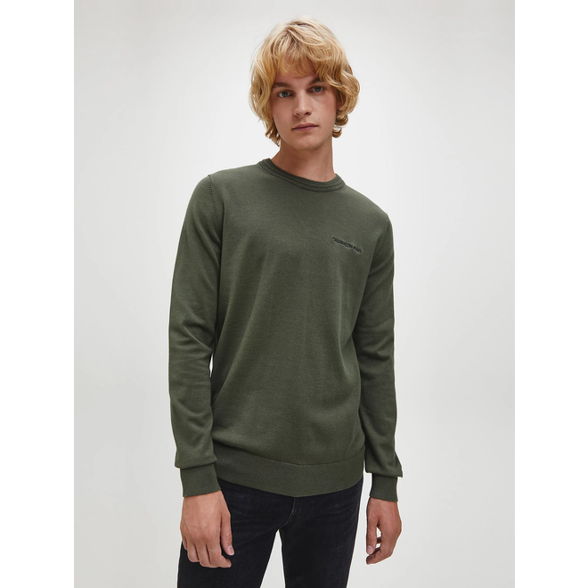 Cotton stretch jumper - Green