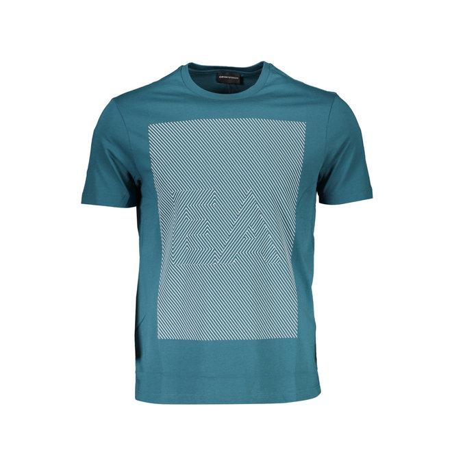 Optical logo T- shirt - Green