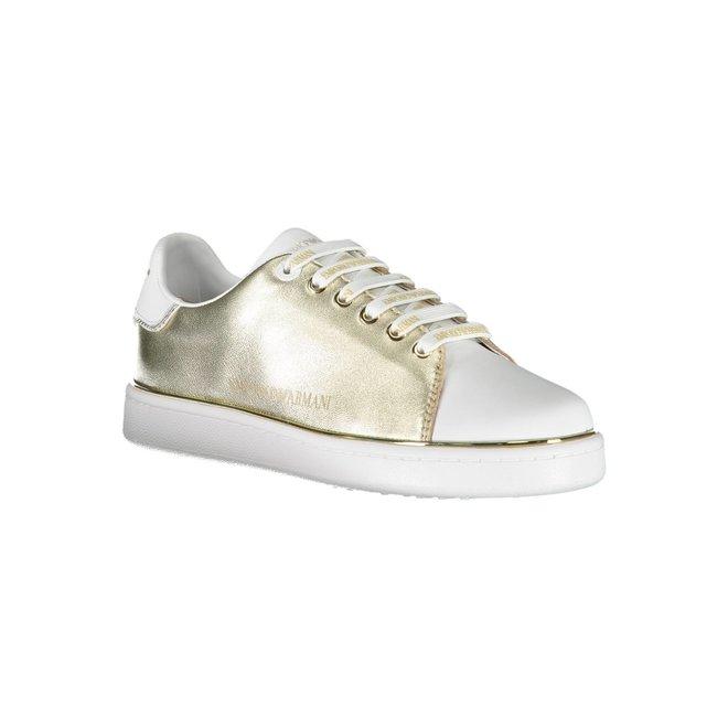 Gold Women's EA sneakers