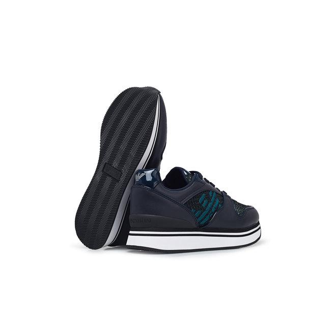 Black Women Low Sneakers