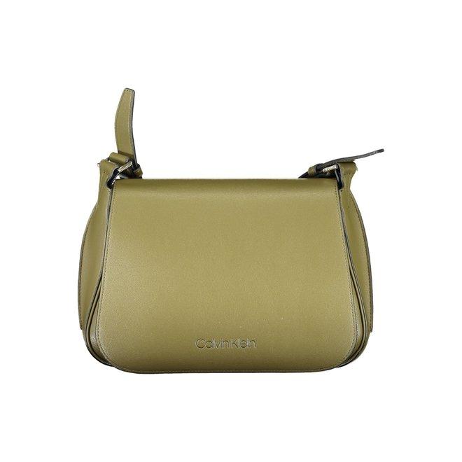 Punched Small Shoulder Bag - Green