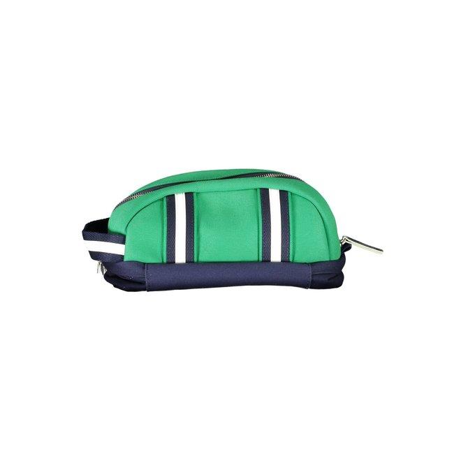 Men Organiser Clutch Bag - Green
