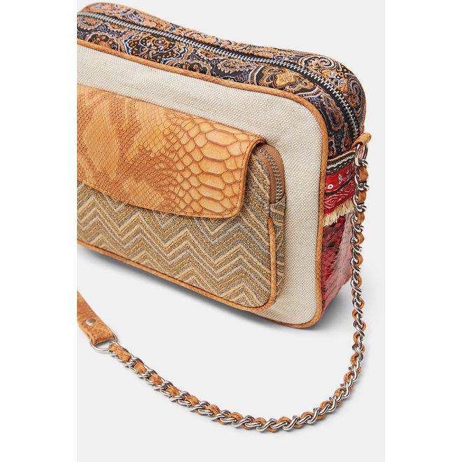 Mini-sling bag trimaterial Women