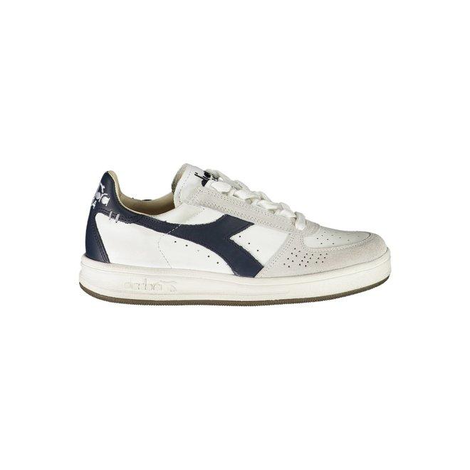 B. Elite Sponge Sneakers Women - White/Beige/Blue