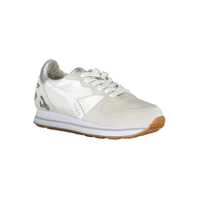 White  Animal Sneaker Women