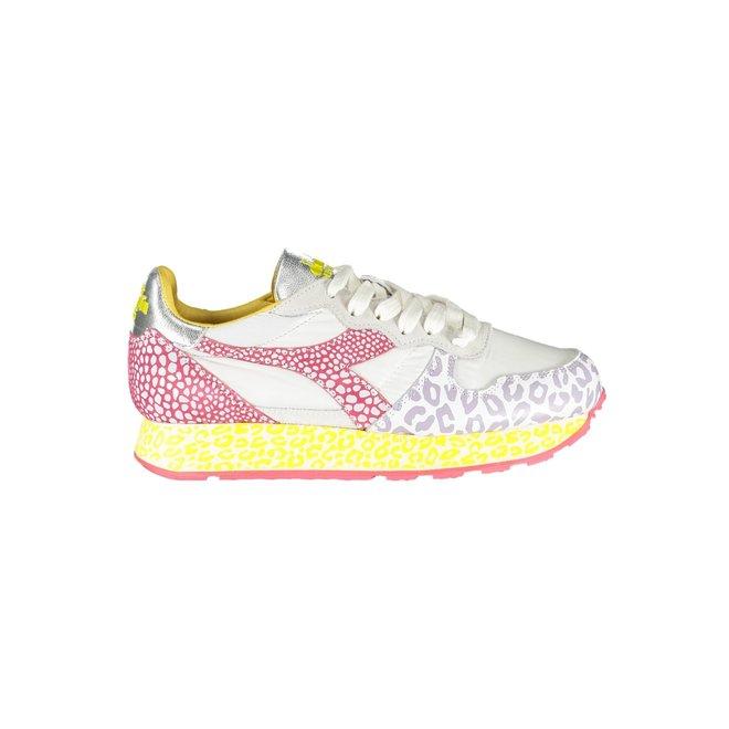 Base Animal Sneakers Women - White/red