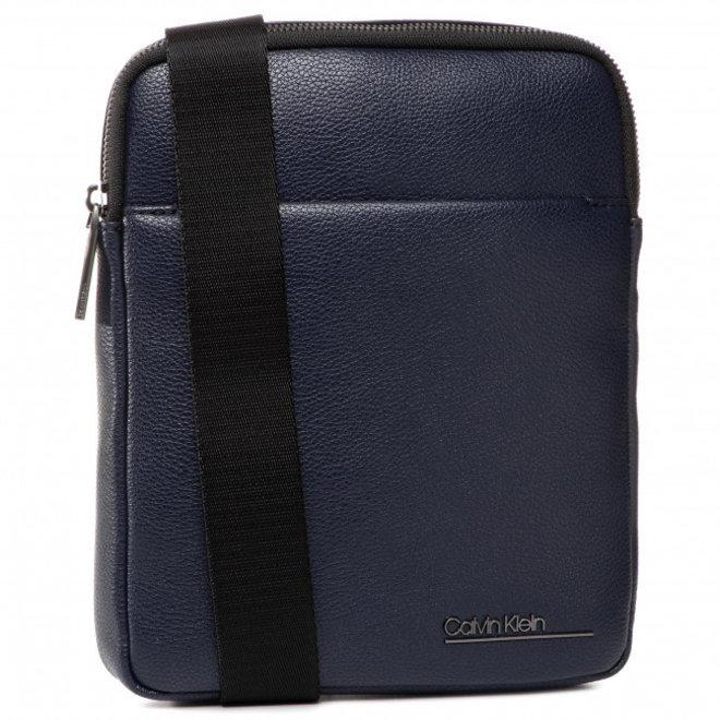 Flat Crossbody Bag Men - Blue