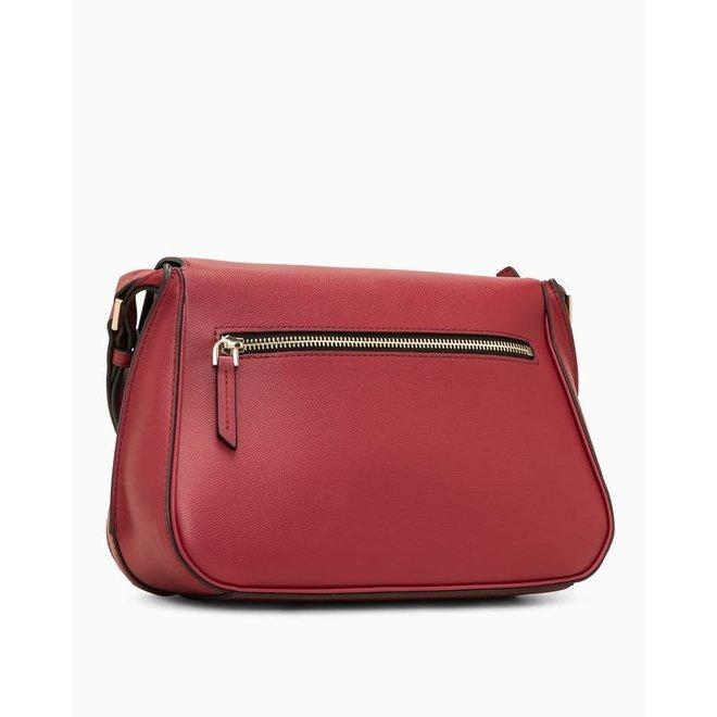 Punched Small Shoulder Bag - Pink