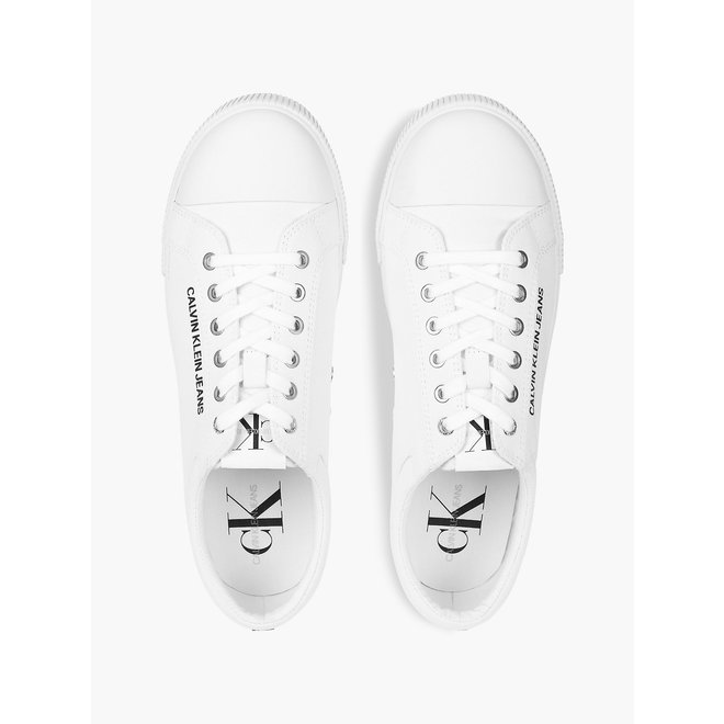 Canvas trainers - Bright white