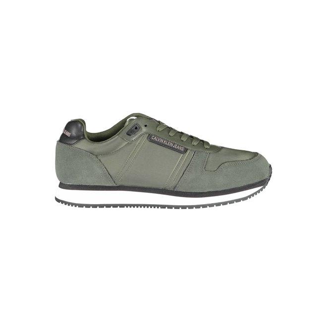 CK Trainers Shoes Men - Dark Olive