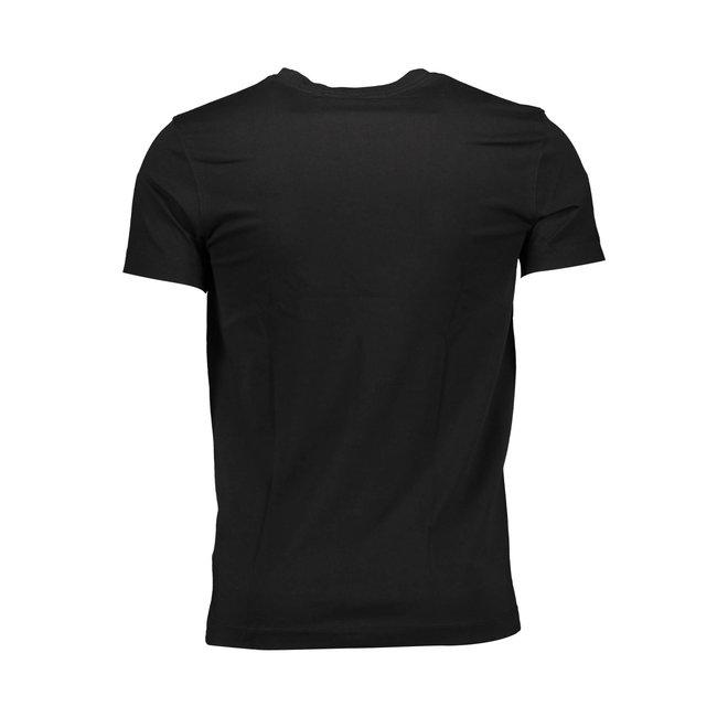 Slim Organic Cotton T-Shirt - Ck The Basics Men - Black