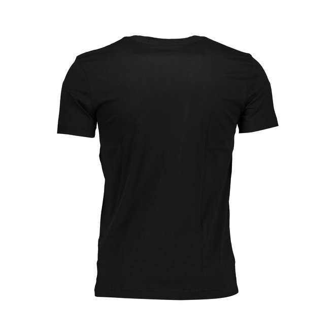 Slim Organic Cotton Monogram T-Shirt Men - CK Black/Dark Clove