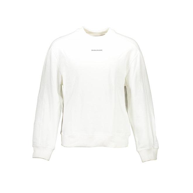 Relaxed organic cotton sweatshirt -  White