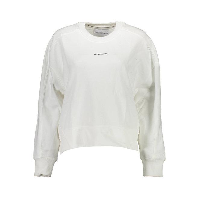 Organic Cotton Sweatshirt Women - White