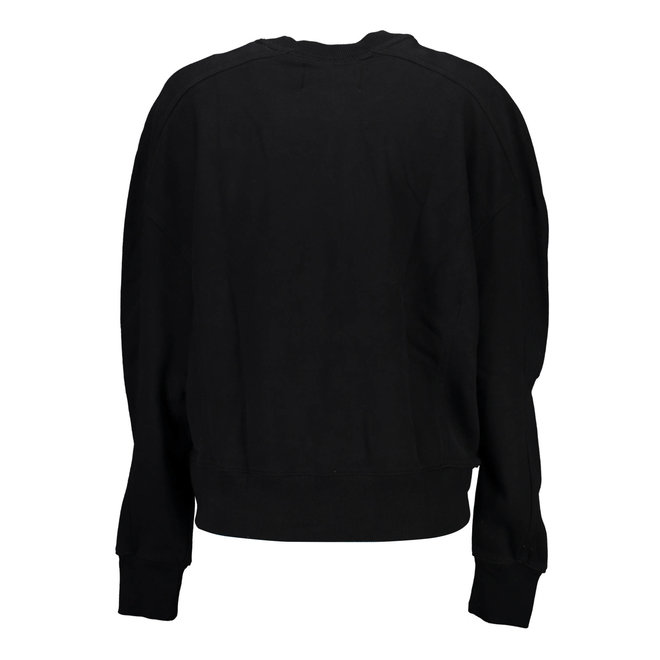 Organic Cotton Sweatshirt Women - Black