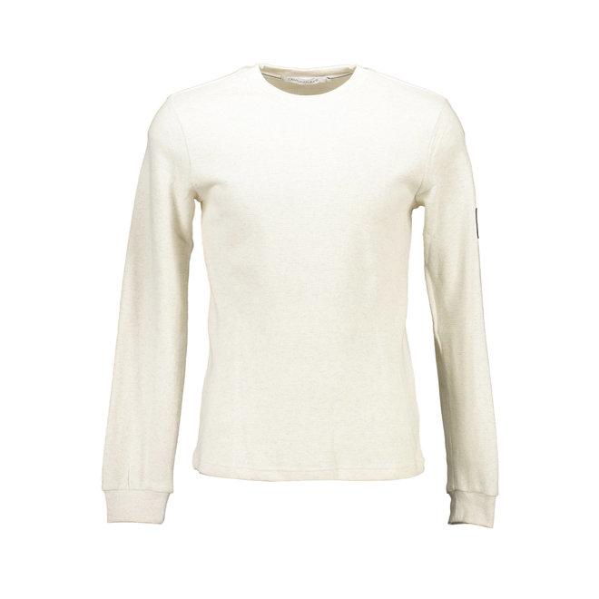 Organic cotton long sleeve t-shirt- Beige