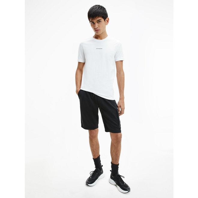 Slim Organic Cotton T-Shirt - Ck The Basics Men - Bright White