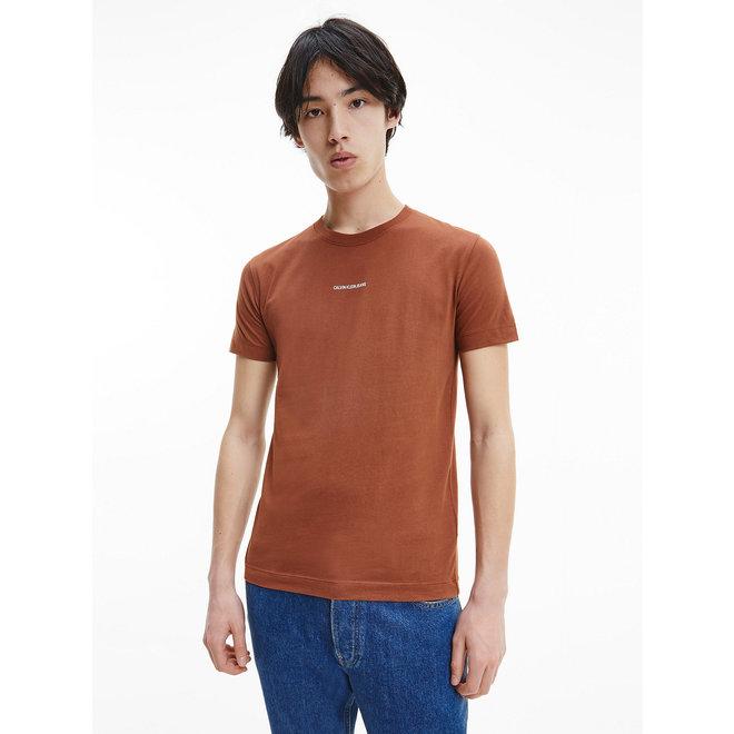 Slim Organic Cotton T-Shirt - Ck The Basics Men - Tortoise Shell