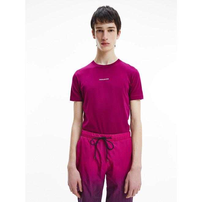 Slim Organic Cotton T-Shirt - Ck The Basics Men - Dark Clove