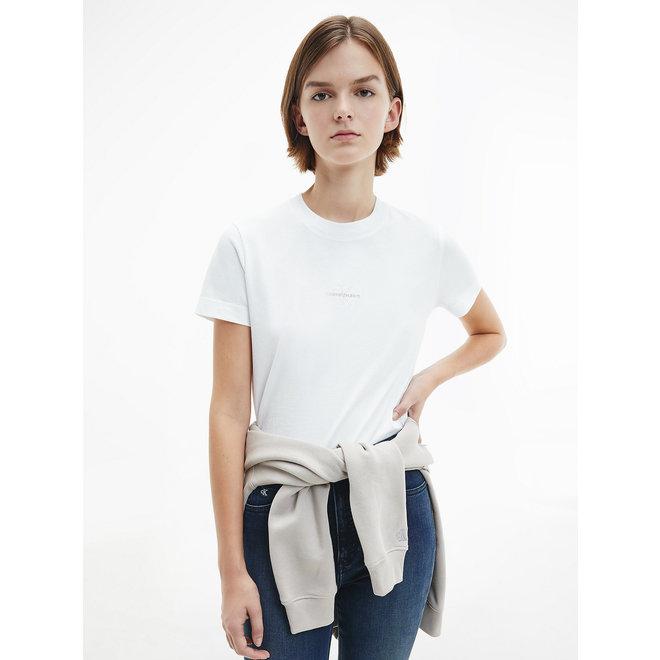 Organic Cotton Logo T-Shirt Women - Bright White