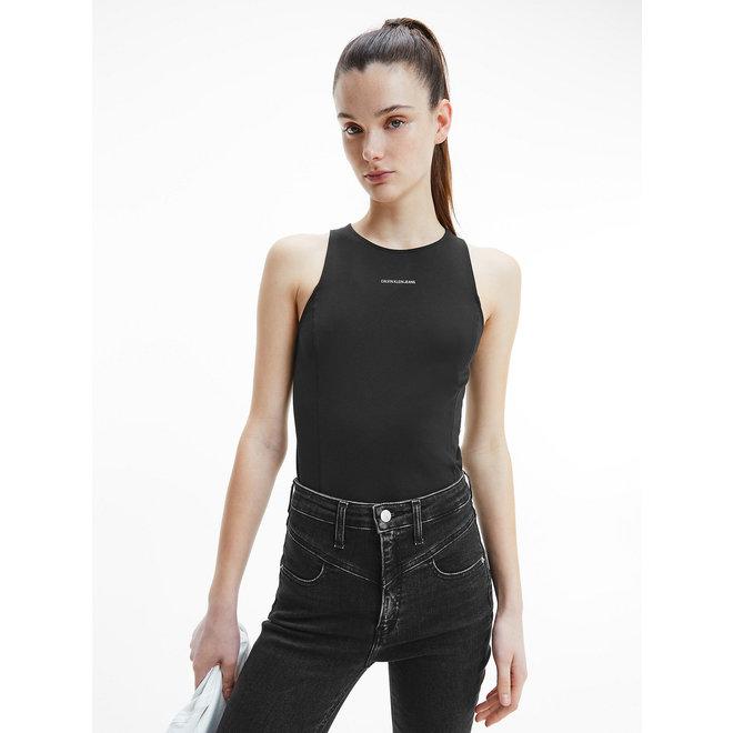 Organic Cotton Tank Top Women - CK Black