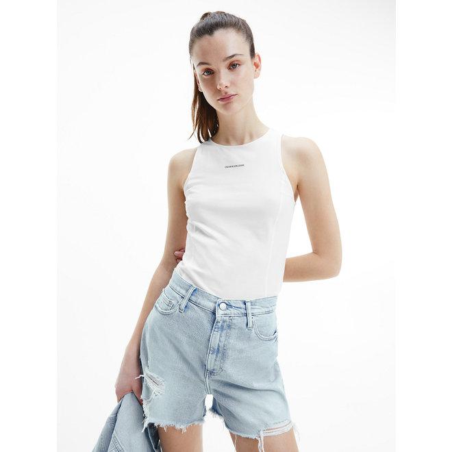Organic Cotton Tank Top Women - Bright White