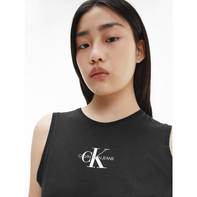 Organic Cotton Logo Tank Top Women - CK Black