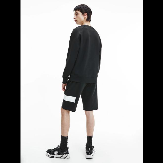 Embossed logo sweatshirt - Black