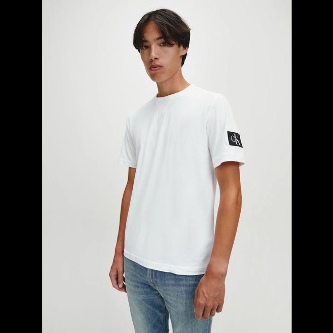 Organic cotton badge T-shirt - White