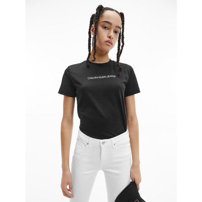 Organic Cotton Logo T-Shirt Women - CK Black