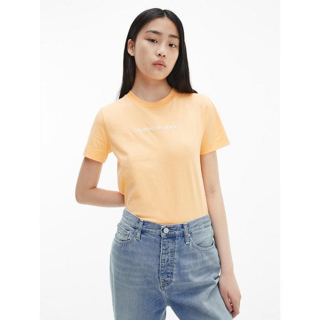 Organic Cotton Logo T-Shirt Women - Crushed Orange