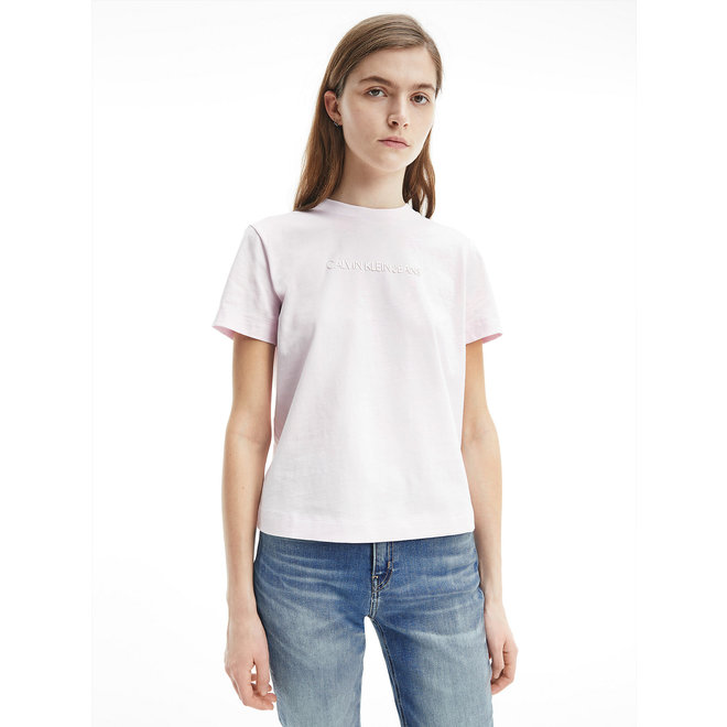 Organic Cotton Logo T-Shirt Women - Pearly Pink