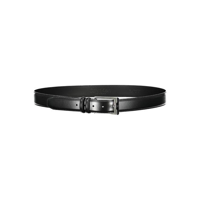 CK Leather Belt Men - Black