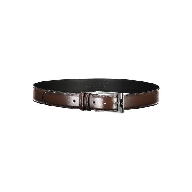 CK Leather Belt Men - Brown