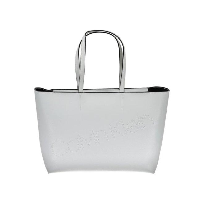 Handbag Med CK Shopper bag - White